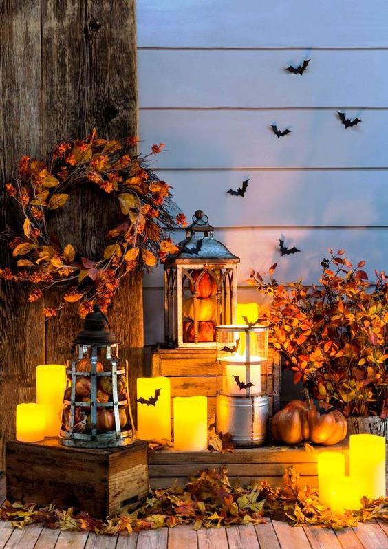 Rustic Halloween Decorations 2016