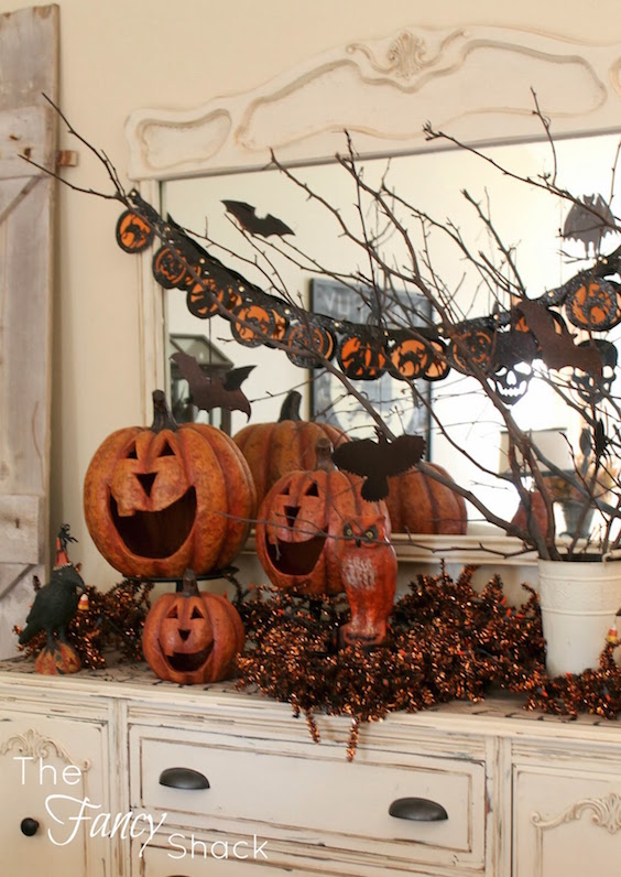 Rustic Halloween Decorations
