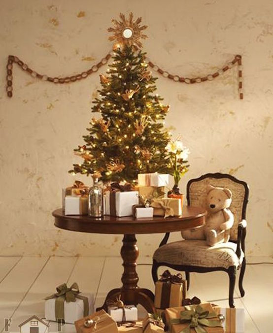 Home Design Ideas For Small Spaces: 37 Inspiring Christmas Tree Ideas For Small Spaces