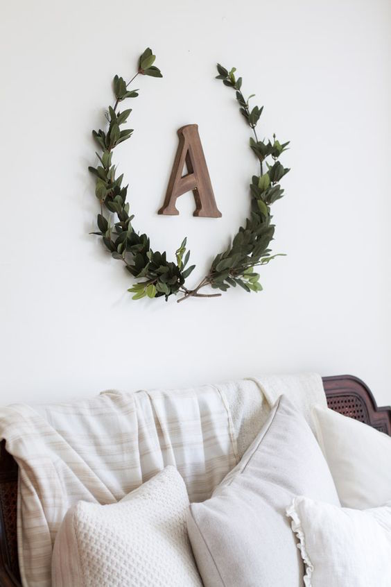 craftberry bush diy laurel wreath