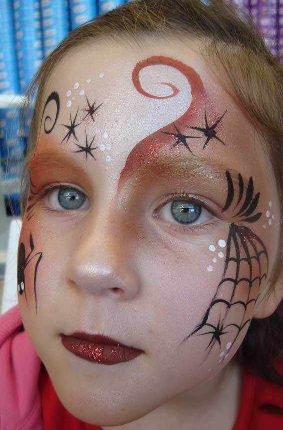 witch make up kids