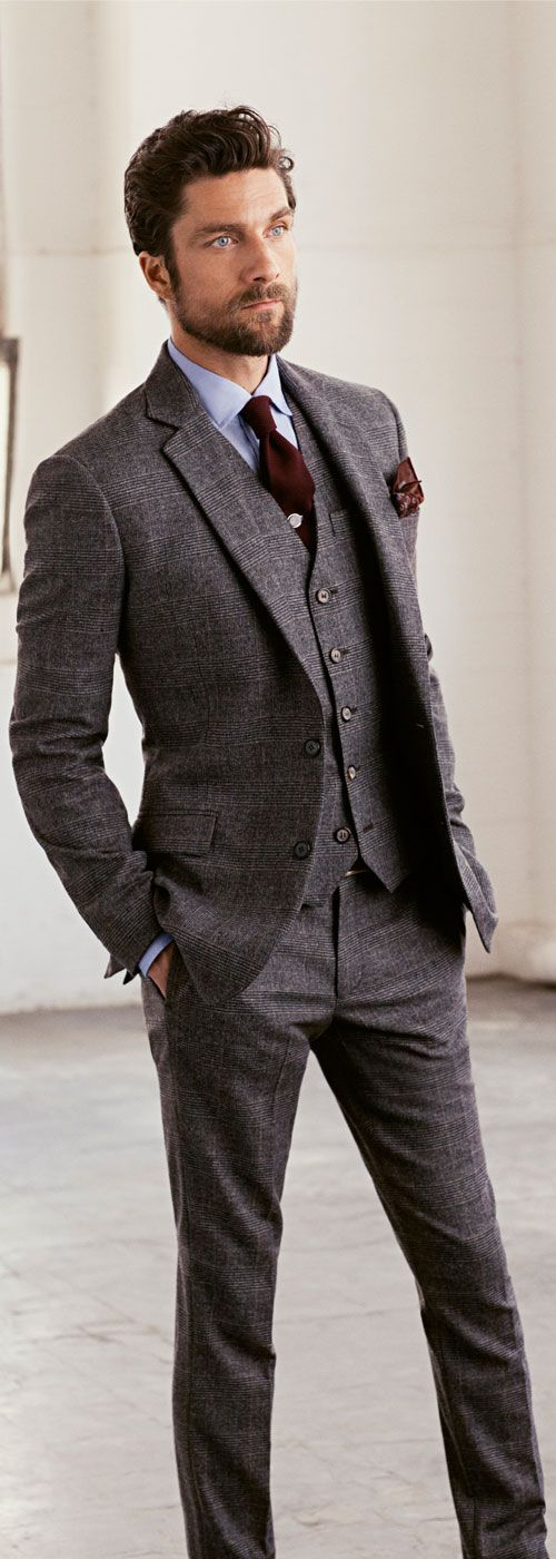 Grey Suits for wedding
