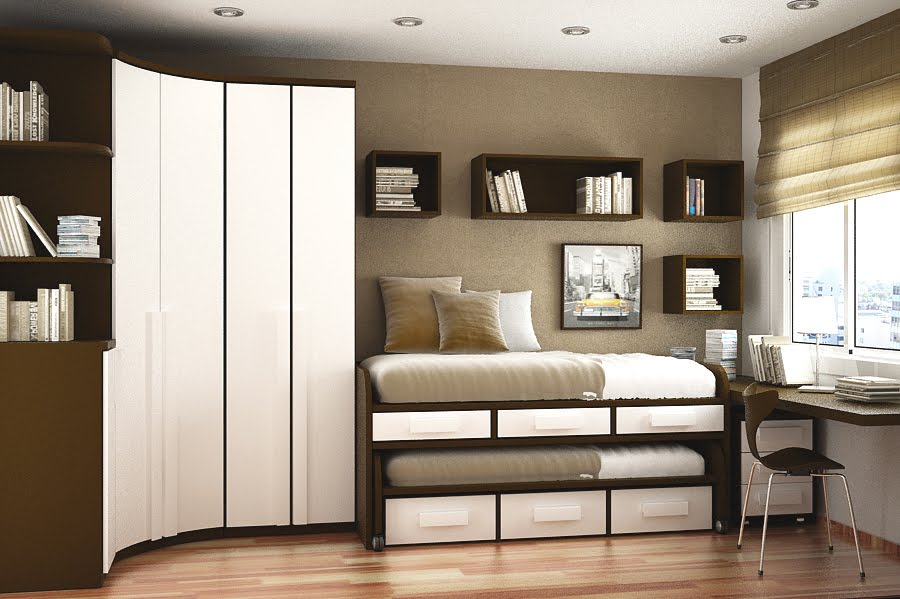 Beds-For-Small-Spaces-small-room-design-two-beds-sergi-mengot-space-saving-ideas