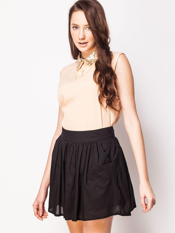 high-collar-semi-formal-dresses