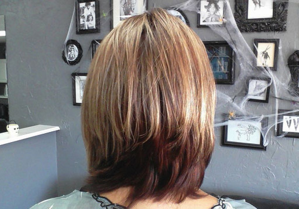 Back View Shoulder Length Layered Haircuts For Thick Hair 28