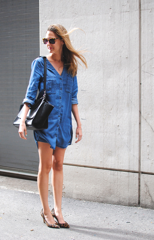 Denim Dress Jane Wear