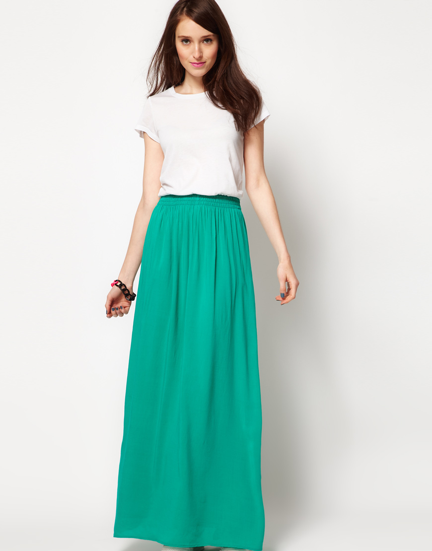 Happy New Year Maxi Skirts Dresses 2015 for Girls