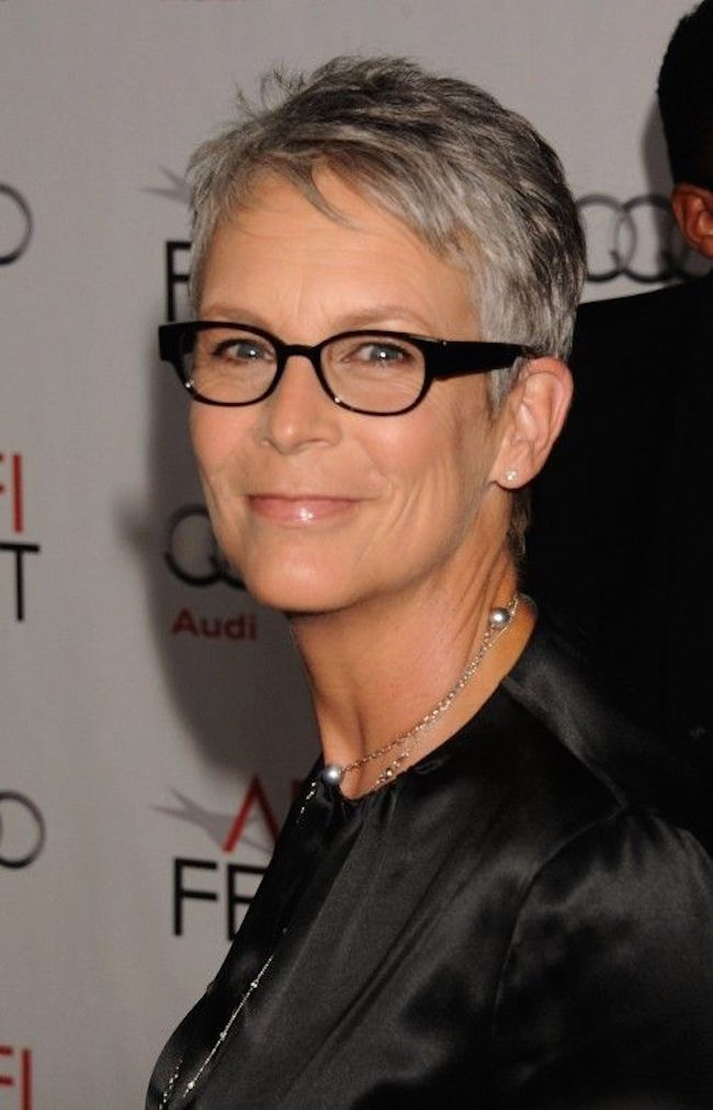Short Hairstyles for Women Over 50 With Glasses