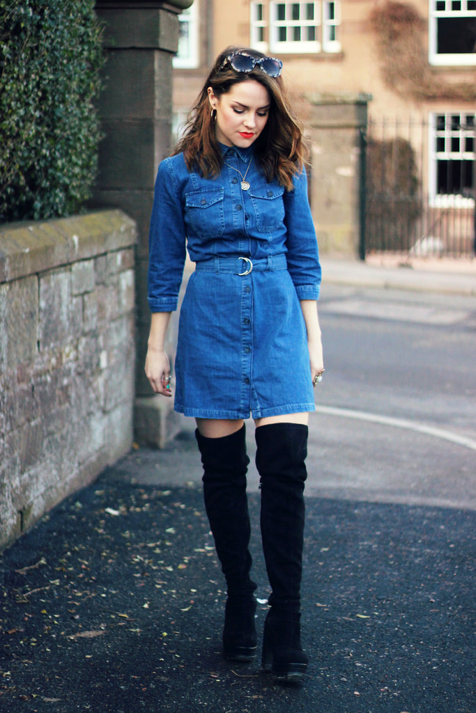 That Denim Shirt Dress
