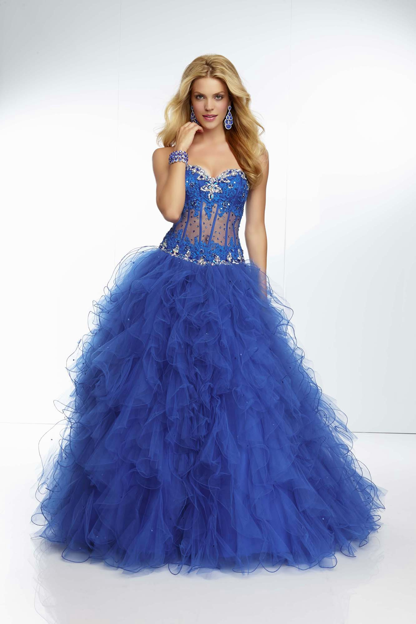 sweet mermaid prom dress
