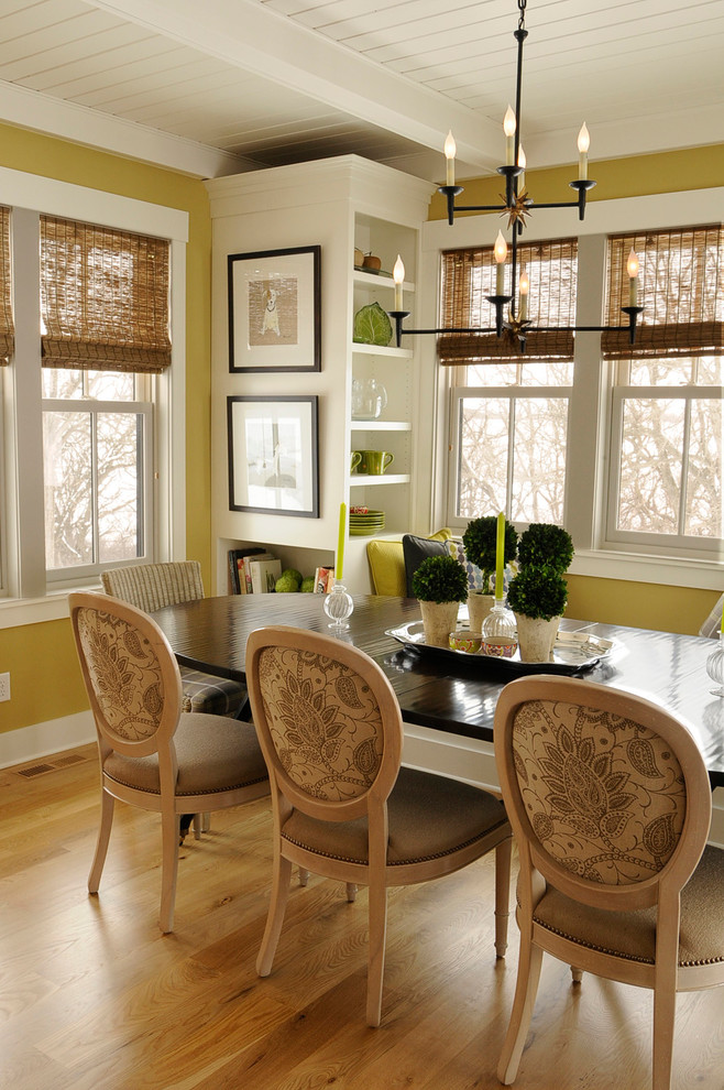 Appealing Corner Shelf home designing tips Farmhouse Dining Room Other Metro