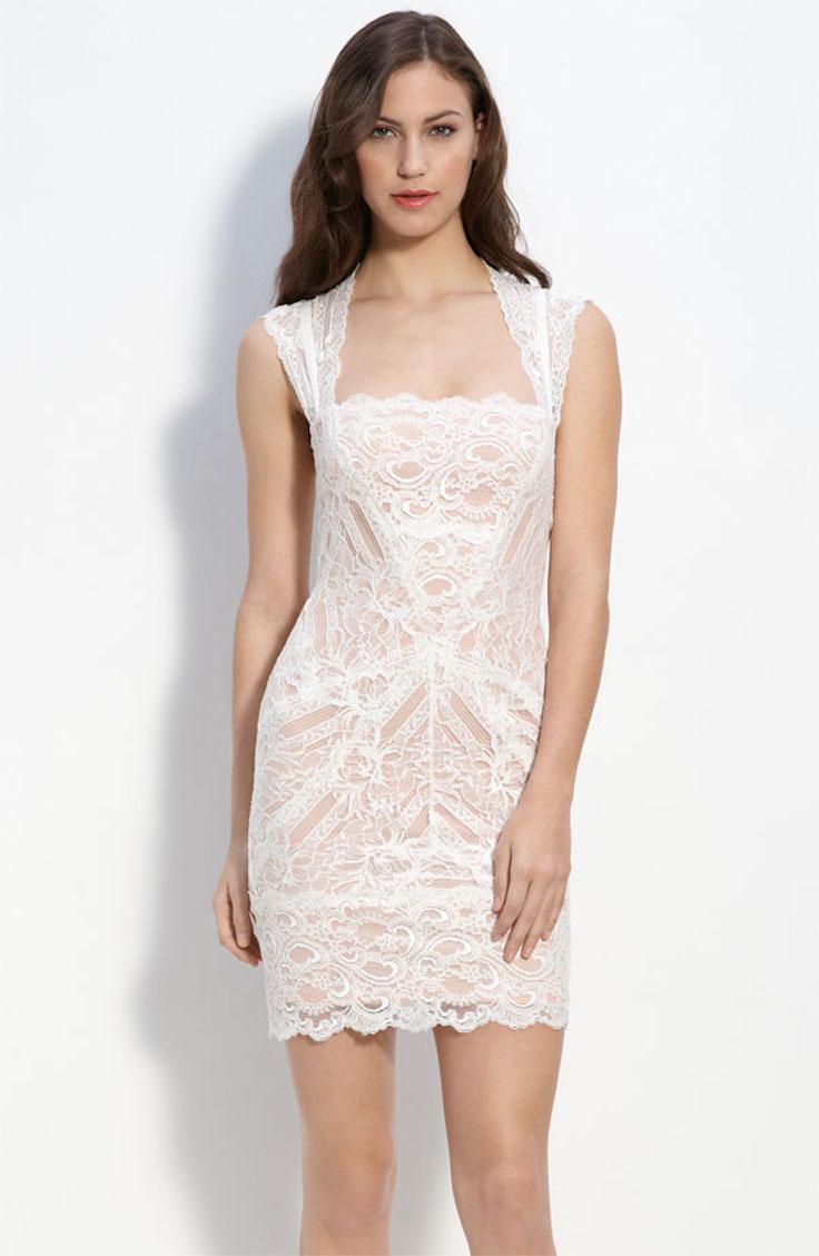 Nordstrom Nicole Miller Lace Dress