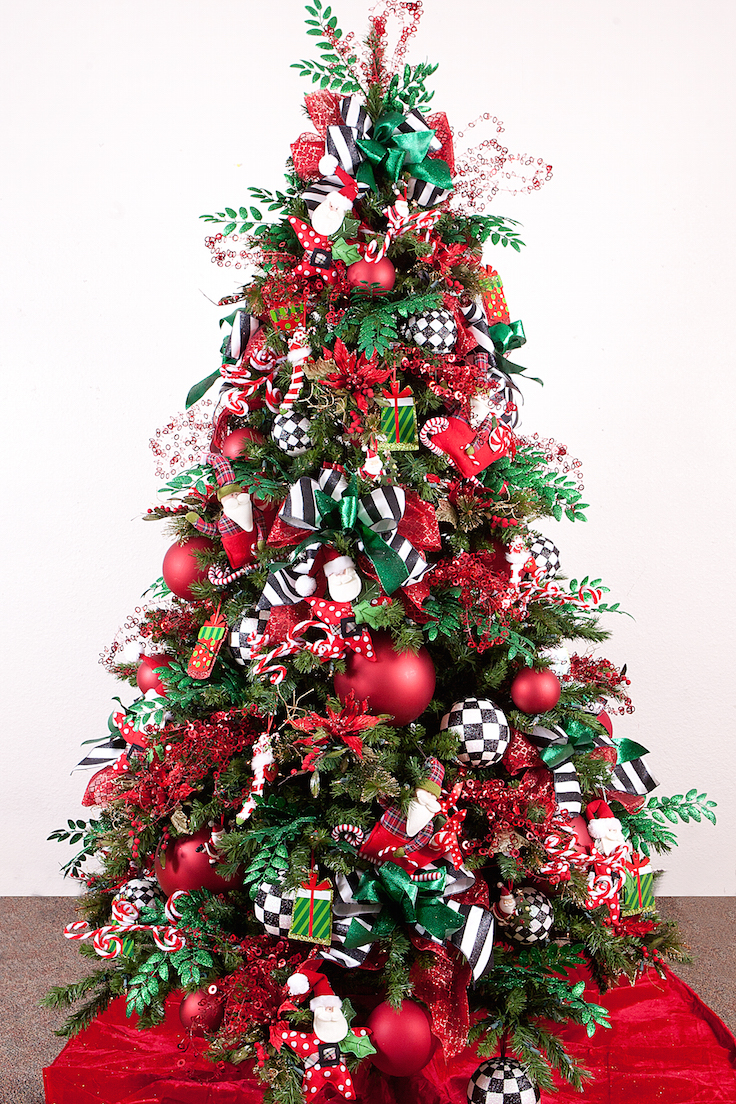 cool design ideas holy colorful christmas tree decorations christmas tree decorating ideas with ribbon