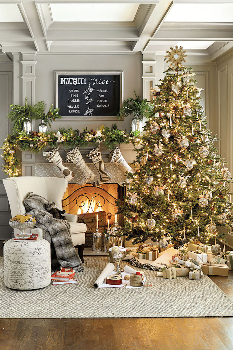 fabulous living room design inspiration establish exciting big christmas tree in front of delightful fireplace with fascinating mantel christmas decorations combine glorious