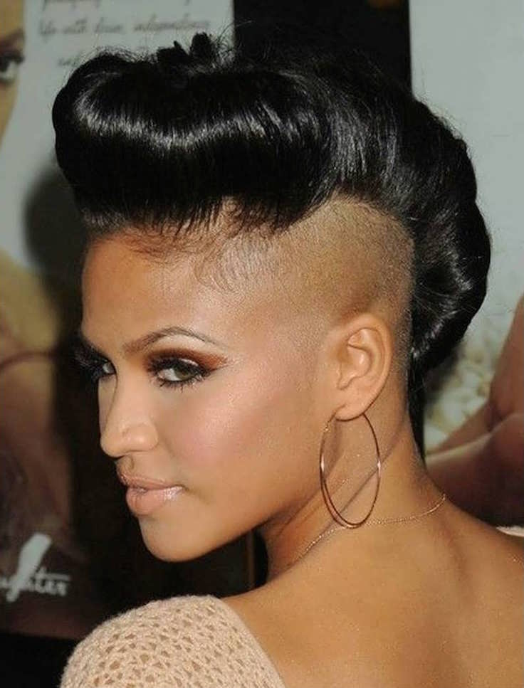 Shaved Hairstyles Women