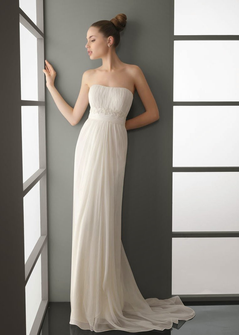 Simple Modern Wedding Dresses