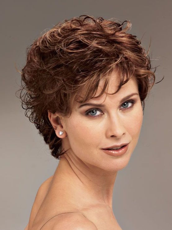 21 Short Curly Hairstyles For Women Over 50 Feed Inspiration